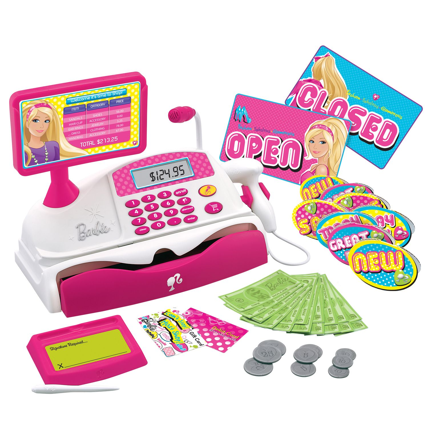 Barbie  CASH REGISTER