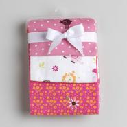 NoJo Newborn Girl's Raspberry Jungle Flannel Receiving Blankets at Kmart.com