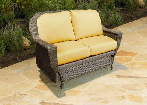 Chicago Wicker  Augusta Double Glider