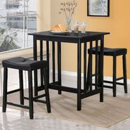 Oxford Creek 3-pcs breakfast set in black finish at Sears.com