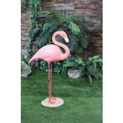 Large Flamingo Statue - Standing at Kmart.com
