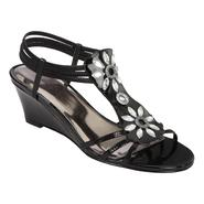 Attention Women's Flicker Bling Stretch Sandal - Black at Kmart.com