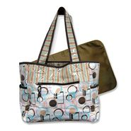 Trend Lab Baby Cocoa Dots Tulip Tote at Sears.com