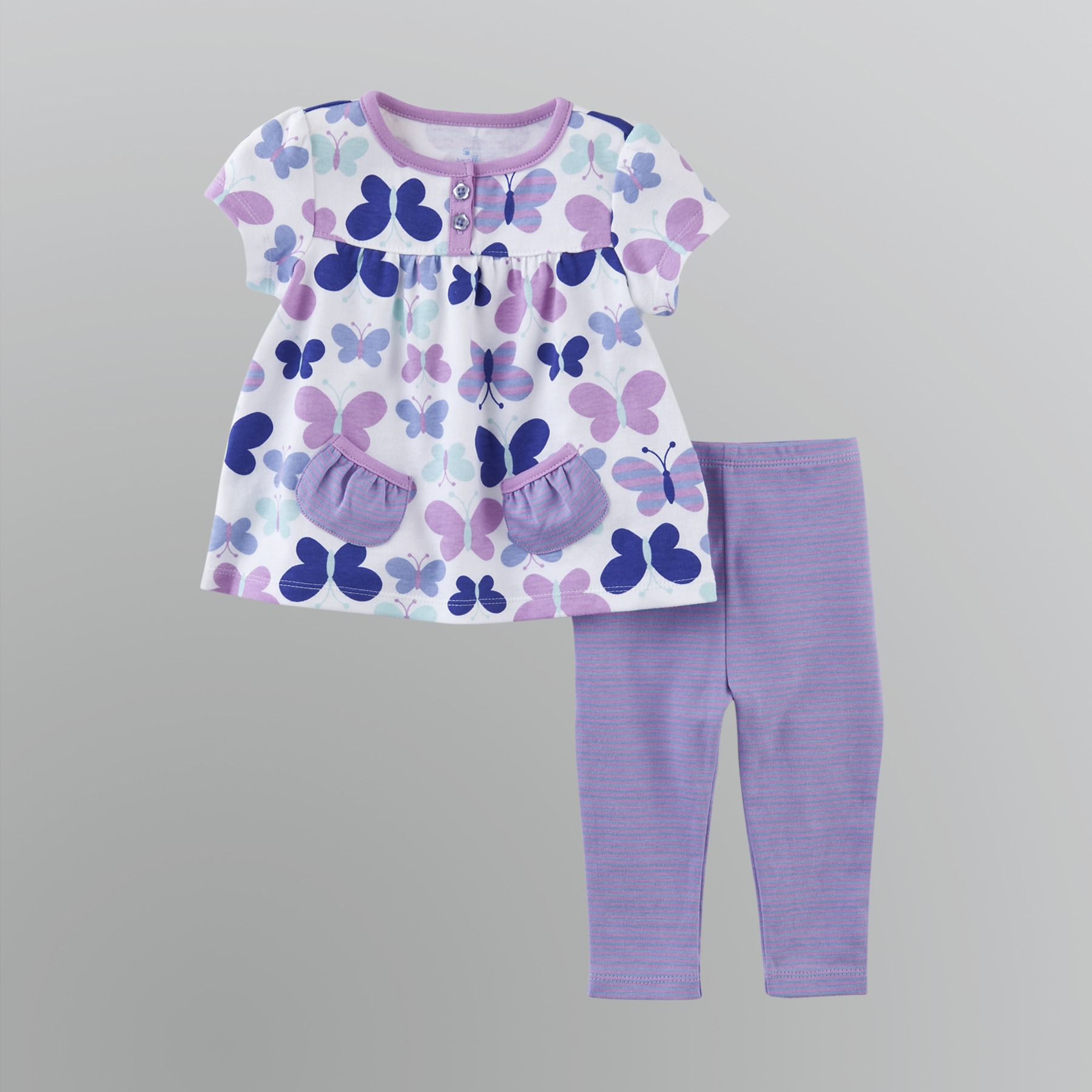 Small Wonders Infant Toddler Girl s Pants Set
