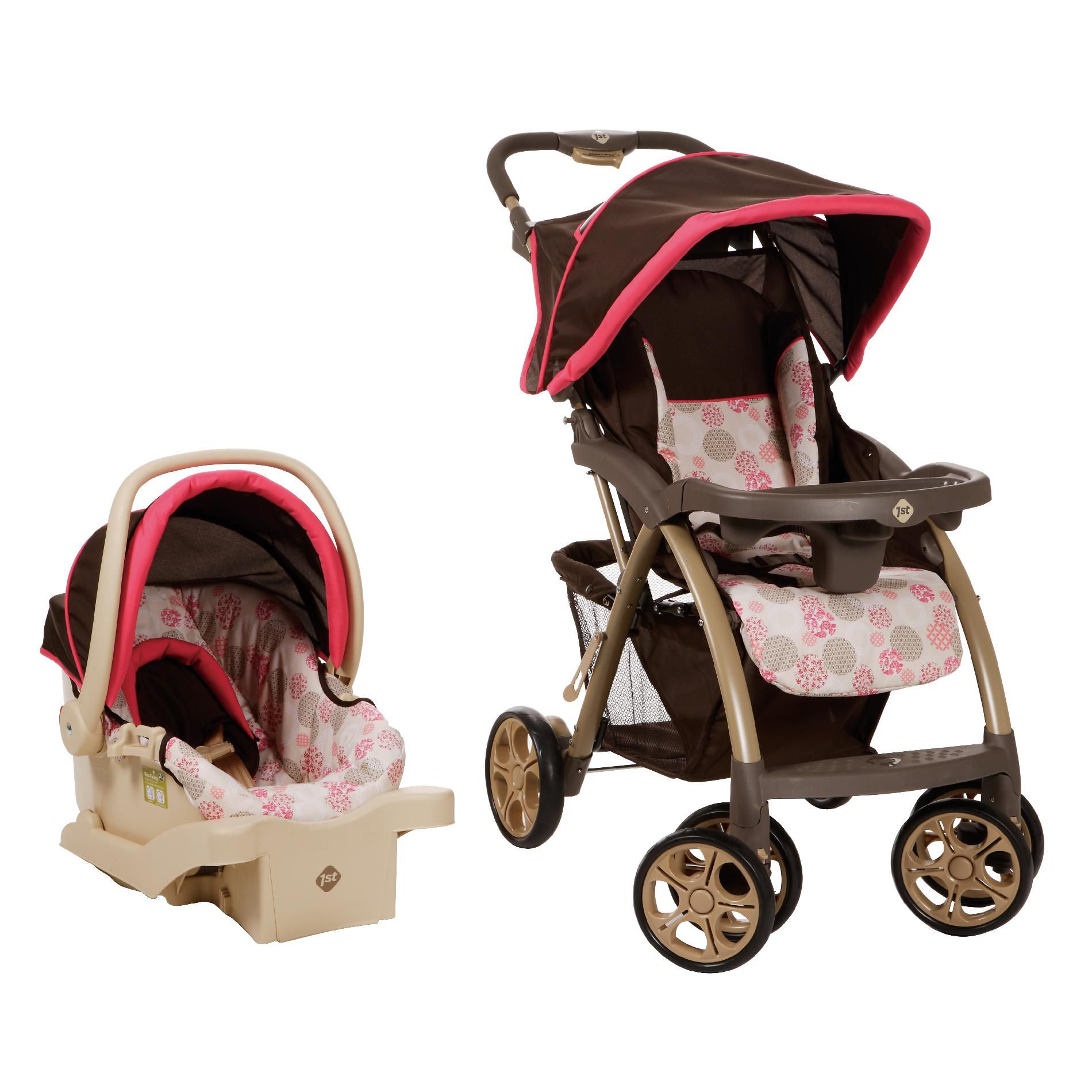 Safety 1st  Saunter Travel System - Rose