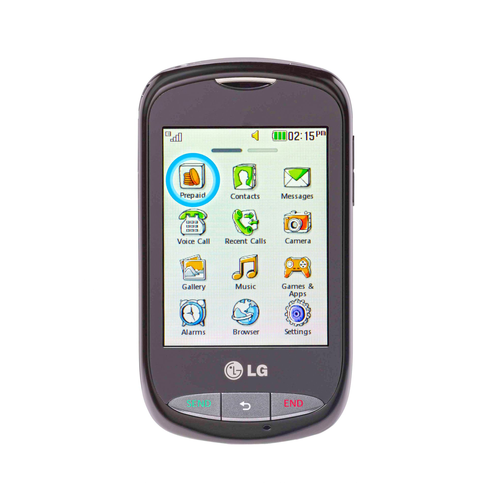 Prepaid Touch Screen Cell Phone - LG800G GSM                                                                                     at mygofer.com