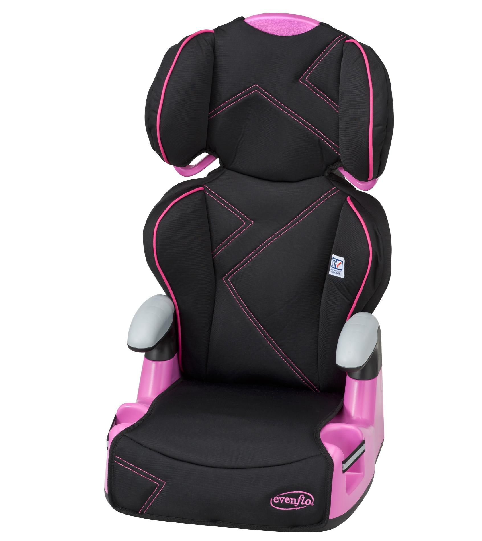 Car Booster Seat AMP - Pink Angles
