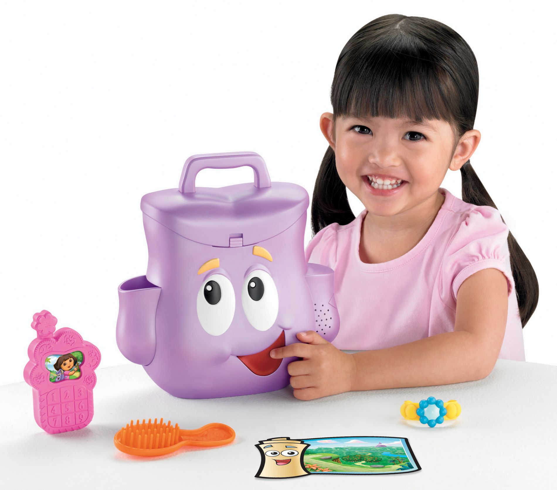 DORA TALKING DAY ADVENTURE BACKPACK