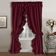 "United Curtain Company Plymouth window in a bag 54"" X 84"" priscilla curtain from United Curtain Company at Kmart.com"