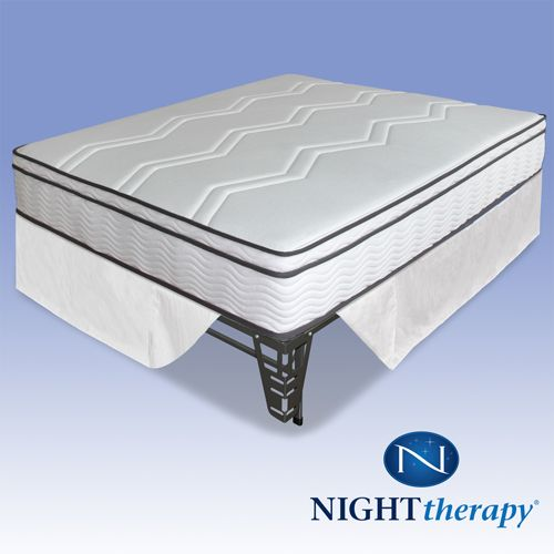 Night Therapy 11 Inch Hybrid Combo Mattress Complete Set-Full