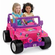 Power Wheels Barbie Jammin' Jeep at Kmart.com