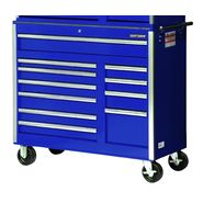 "Craftsman 42"" 11-Drawer Ball Bearing Slides Roller Cabinet Blue at Sears.com"