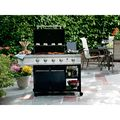 4-Burner Gas Grill with Open Storage