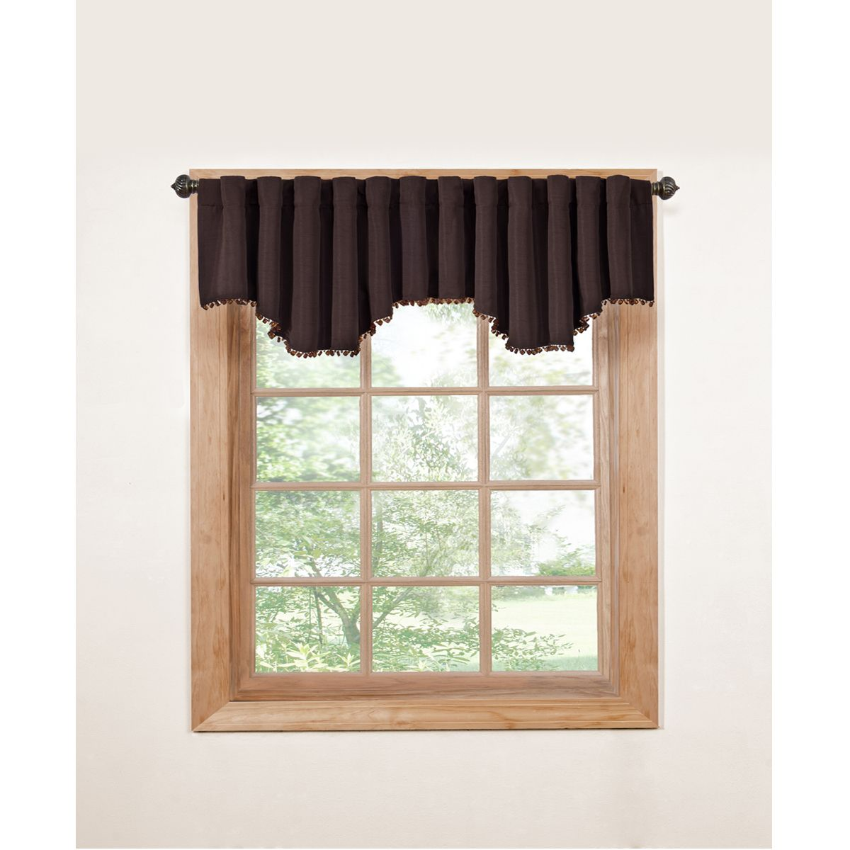 Eclipse Tavern Beaded Window Valance