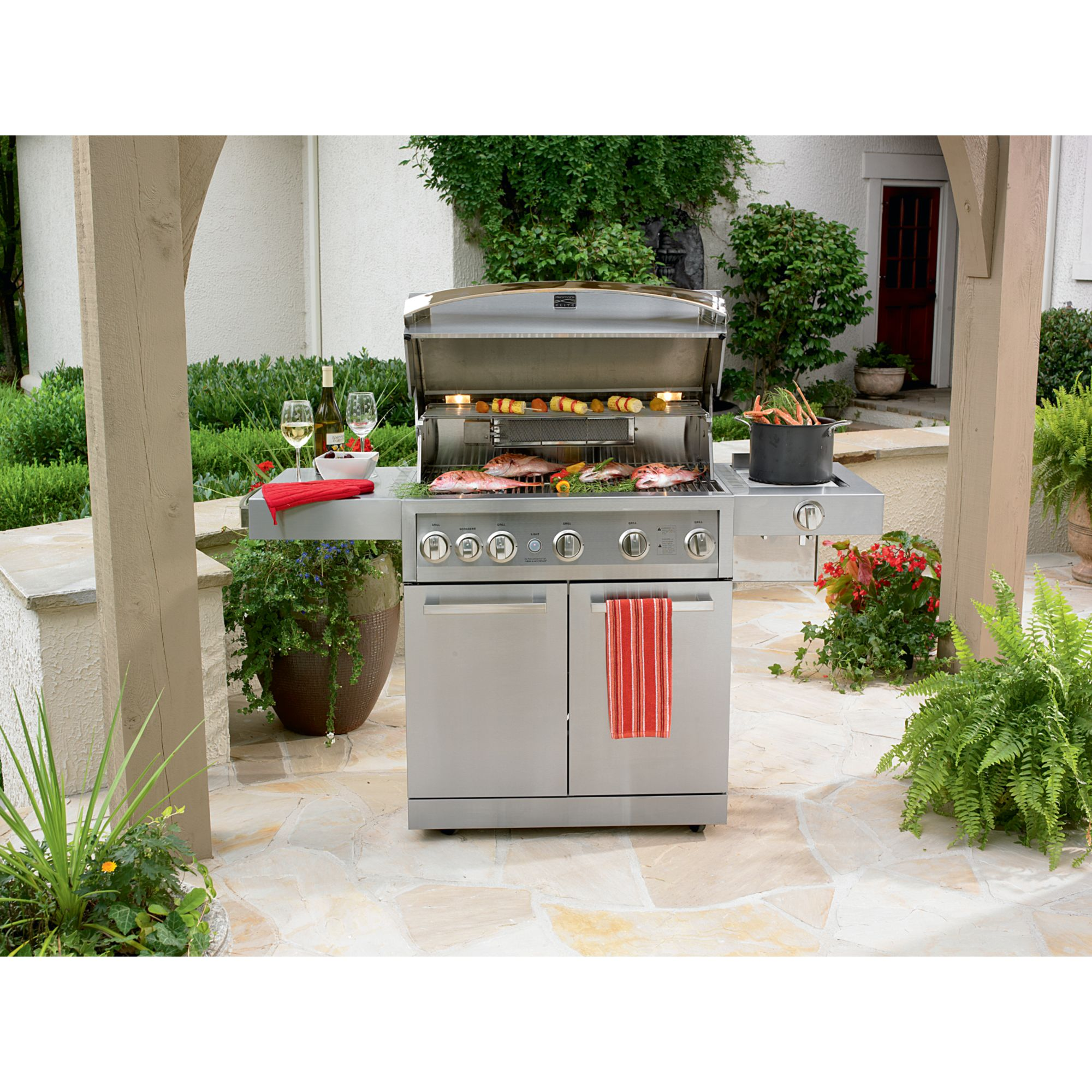 Kenmore Elite Burner Stainless Steel Gas Grill
