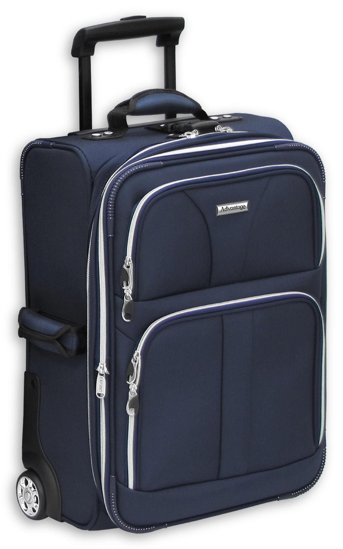 Leisure Luggage 28in Upright Advantage Silver Lite - Navy