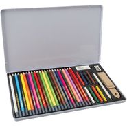 Royal Brush Colored Pencil Drawing Tin, 36 Pieces at Kmart.com