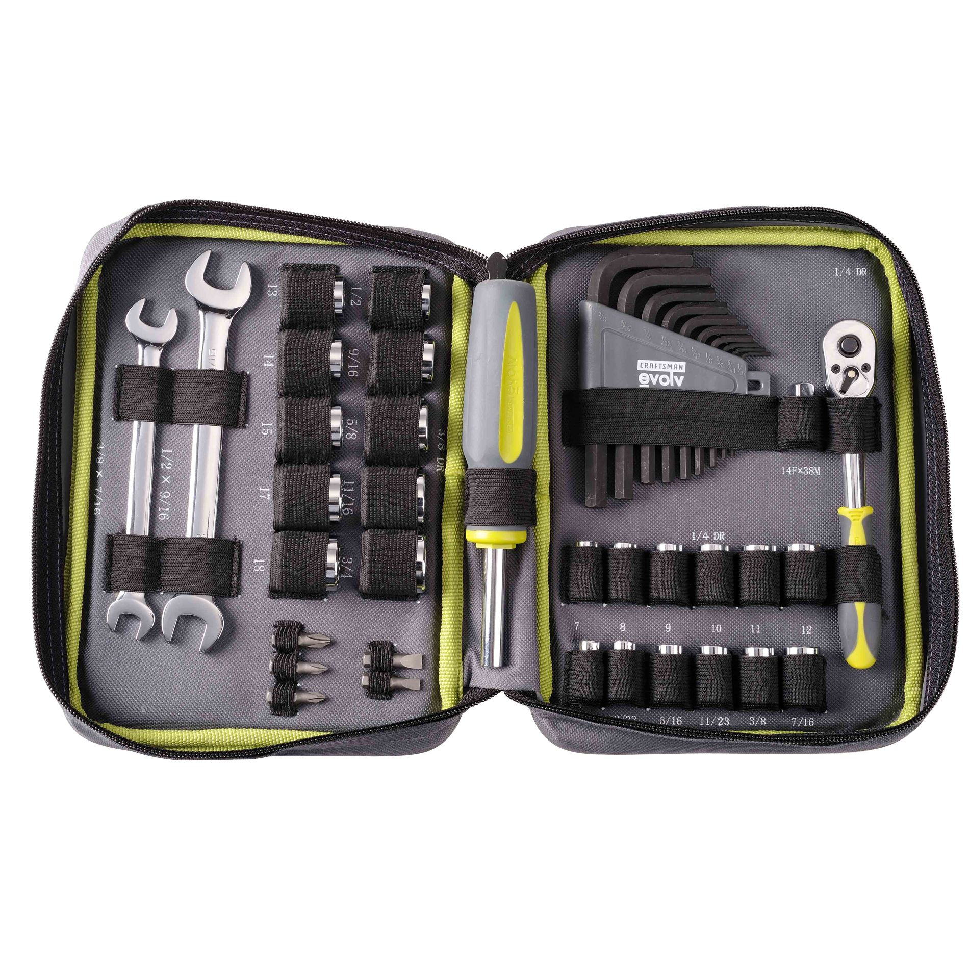 42 pc. Zipper Case Tool Set                                                                                                      at mygofer.com