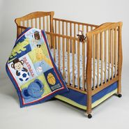 NoJo Newborn Boy's Play Time Safari Four-Piece Bedding Set at Kmart.com