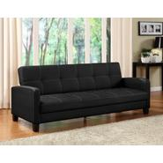 DHP Delaney Black Futon Sofa Sleeper at Sears.com