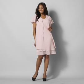 Women's Embroidered Overlay Dress at Kmart.com