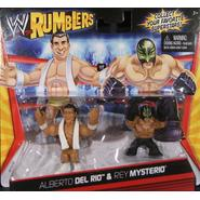 WWE Alberto Del Rio & Rey Mysterio - WWE Rumblers Toy Wrestling Action Figures at Sears.com