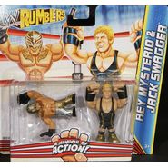 WWE Jack Swagger & Rey Mysterio - WWE Rumblers Toy Wrestling Action Figures at Sears.com