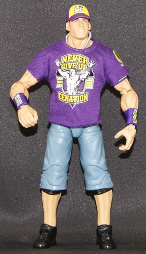 John Cena - Elite 11 Toy Wrestling Action Figure                                                                                 at mygofer.com
