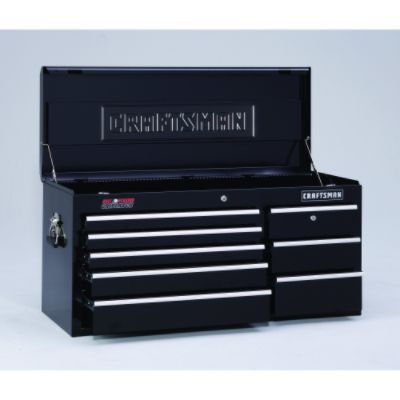 Craftsman-22 Drawer, 40 in. Combo - Black - Each Item Sold Separately