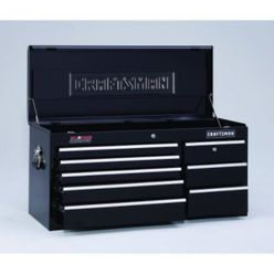 Craftsman-23 Drawer, 40 in. Combo - Black - Each Item Sold Separately