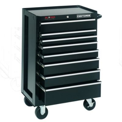 Craftsman-14 Drawer, 26 in. Combo - Black - Each Item Sold Separately
