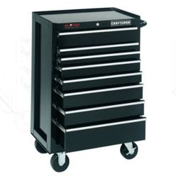 Craftsman-17 Drawer, 26 in. Combo - Black - Each Item Sold Separately