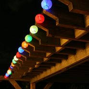 20ct Chinese Lantern Solar Light String Set at Kmart.com