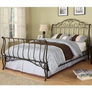 Oxford Creek Full-size Metal Sleigh Bed at Kmart.com