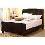 Oxford Creek King Size Sleigh Bed in Faux Leather at Kmart.com