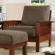 Oxford Creek Mission-style Oak and Olive Chair at Sears.com