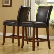 Oxford Creek Pub Chair in Vinyl (set of 2) at Kmart.com