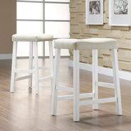 Oxford Creek White Vinyl chairs (Set of 2) at Kmart.com