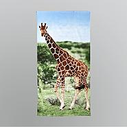 Photo Real Beach Towel - Giraffe at Kmart.com