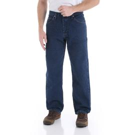 Wrangler Men's Dark Rinse Relaxed Fit Denim Jean at Kmart.com