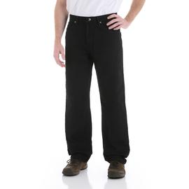 Wrangler Men's Black Denim Relaxed Fit Jean at Kmart.com