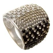 Sterling N Ice™ Sterling Silver Crystal Ring at Sears.com