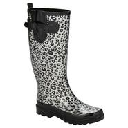 Intrigue Women's Rain Boot Spots - Silver at Kmart.com