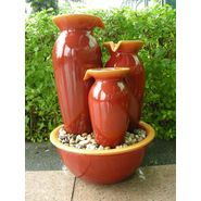 Red Cascade Vase Fountain at Sears.com