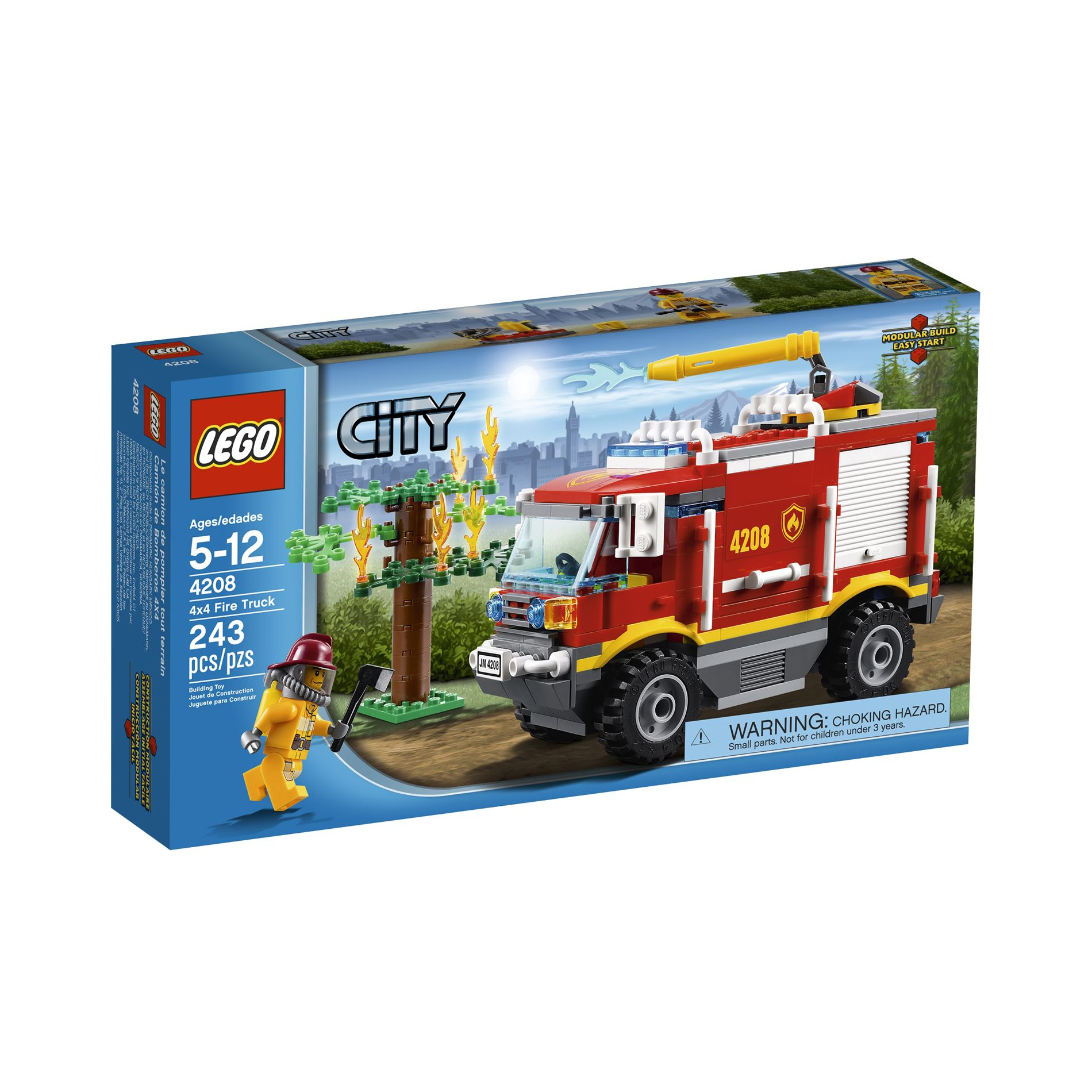 City 4X4 Fire Truck 4208                                                                                                         at mygofer.com