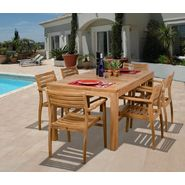 Amazonia Niagara 7-pc Teak Dining Set at Kmart.com