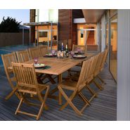 Amazonia Adelaide 11-pc Teak Dining Set at Sears.com