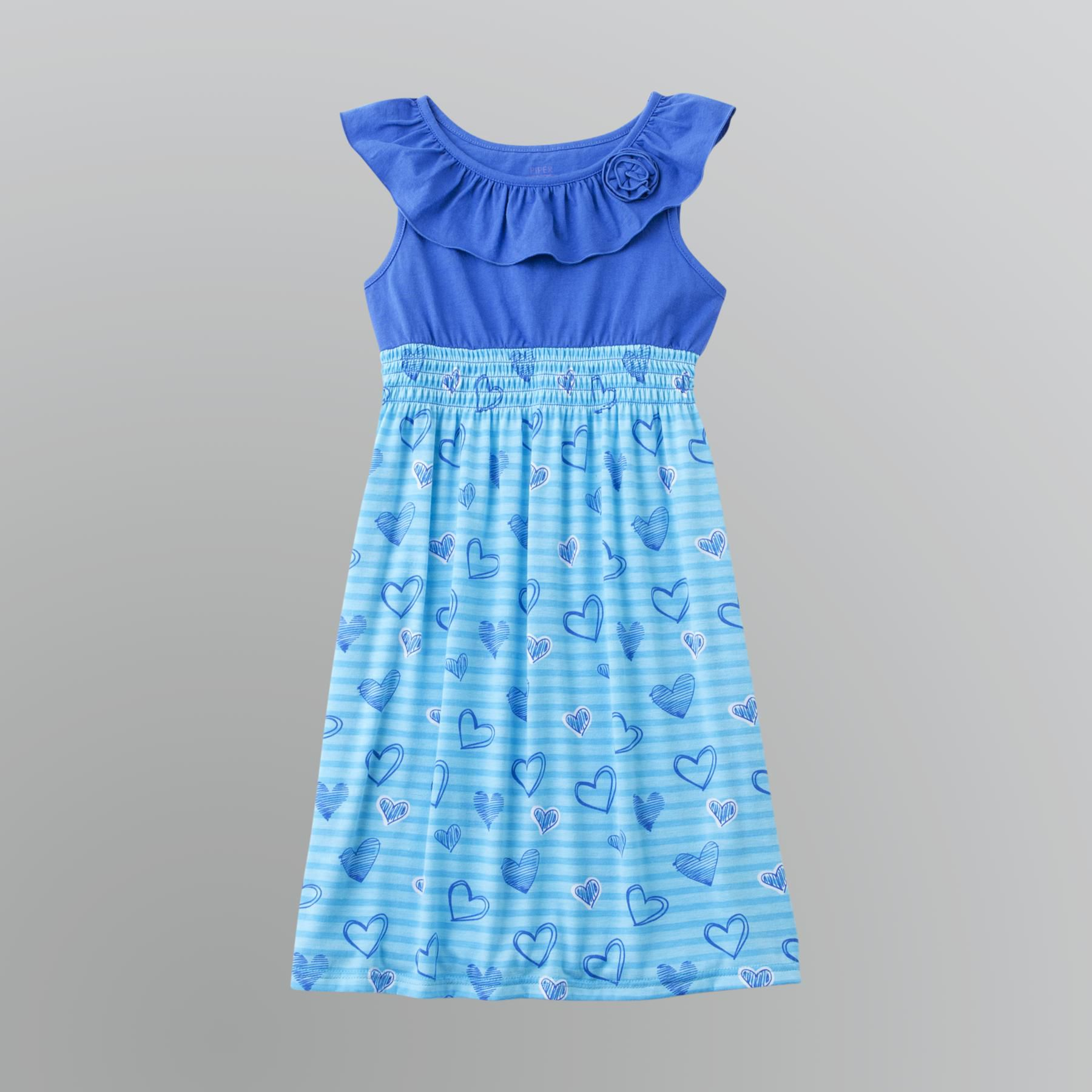 Piper Girl s Ruffled Trapeze Dress