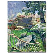 "Trademark Fine Art 35x47 inches Paul Gauguin ""The Pig Keeper, 1889"" at Kmart.com"