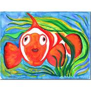 Trademark Fine Art Wendra 'Clown Fish' Canvas Art at Sears.com